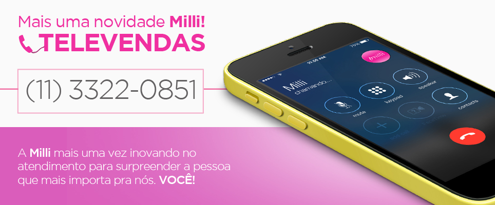 #TelevendasMilli