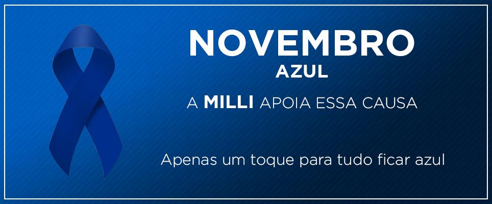 #NovembroAzul